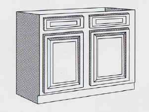 Kitchen Cabinets – Base – Standard Stock Sizes