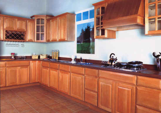 honey maple kitchen cabinets - Rosewood Kitchen Cabinets