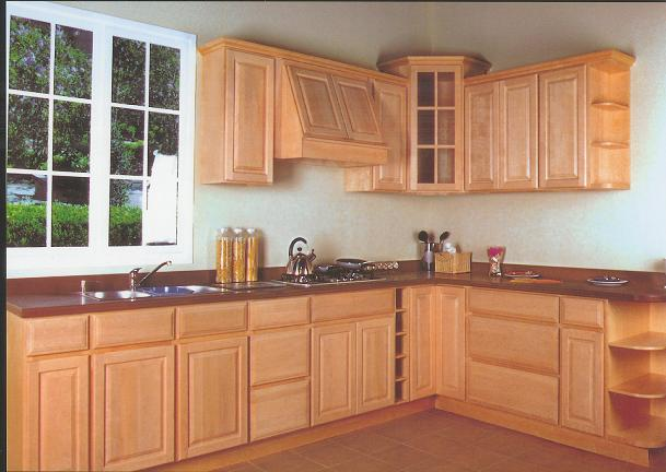 Discount maple kitchen cabinets for Maple kitchen cabinets